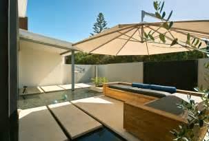 Patio Covering Designs Elegant Cantilever Umbrella Image Ideas For Patio Modern