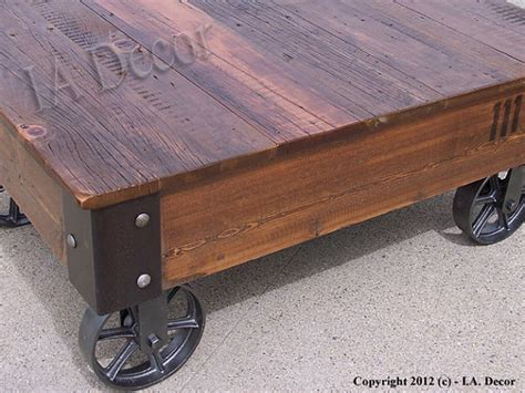 Rustic Coffee Tables With Wheels Rustic Coffee Table With Wheels