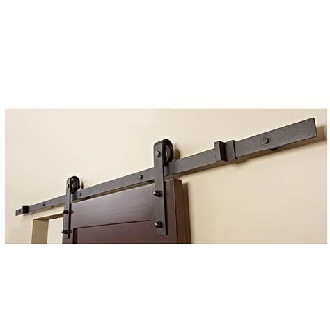 barn door rail system barn sliding door rail rona 199 basement