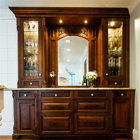 Kitchen: Kitchen Hutch Cabinets   Antique Hutch With Glass