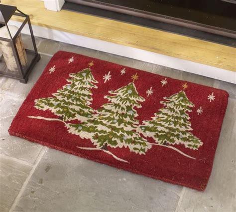 Christmas Tree Doormat Pottery Barn Pottery Barn Tree Of Rug