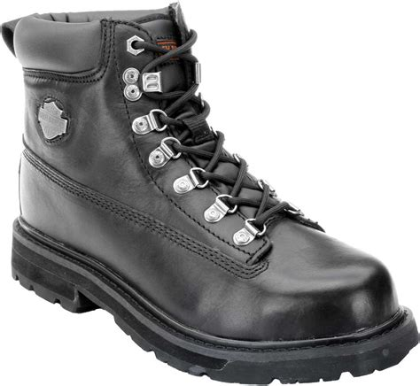 steel toe motorcycle boots harley davidson men s drive motorcycle steel toe black