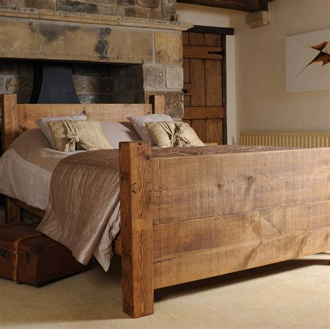 real wood beds solid wood bed by h f notonthehighstreet com