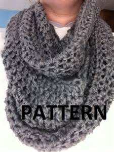Free Crochet Patterns For Infinity Scarves Crochet Pattern S Infinity Scarf Pattern Infinity