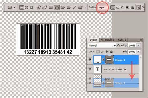 cara membuat barcode garis cara membuat sticker barcode di photoshop