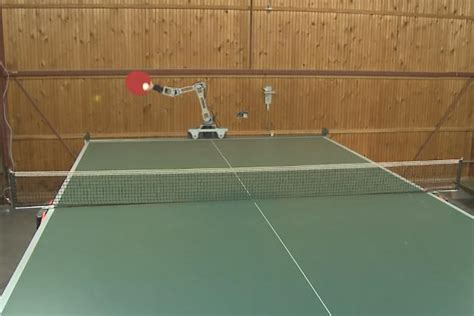 hobbyist demos ping pong robot and it s pretty