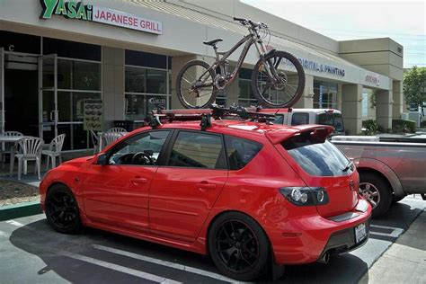 Best Bike Rack For Mazda 3 Hatchback by Mazda 3 Mps With Roof Rack Other Roof Rack