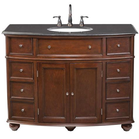 Home Depot Sink Vanity by 38 46 In Vanities With Tops Bathroom Bath The Home