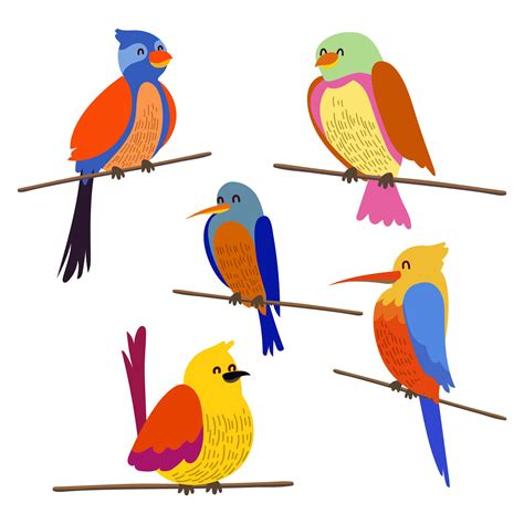 birds clipart perching free vector 191 free downloads