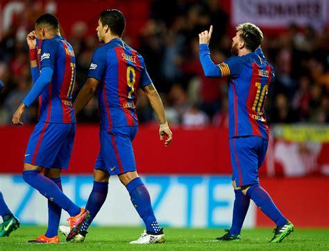 barcelona la liga lionel messi photos sevilla fc v fc barcelona la liga