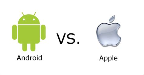 apple and android androids and apples android vs apple the saga continues