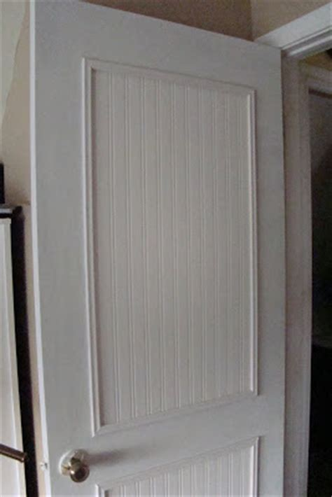 Make Beadboard Cabinet Doors How To Make Your Hollow Doors Look Expensive When You Re On A Budget