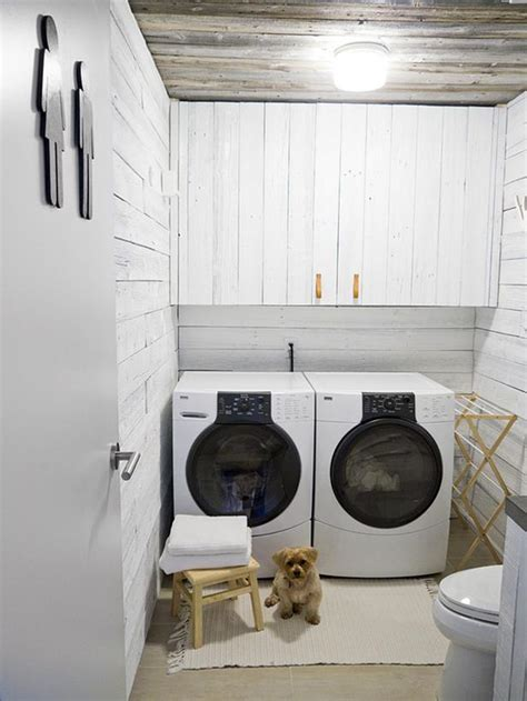 Laundry Room In Unfinished Basement by Laundry Room Lighting 101 Pegasus Lighting Blog