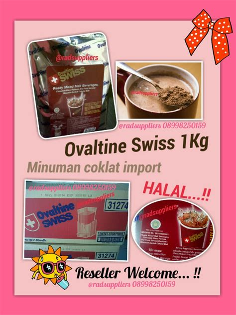Ovaltine Uht 1 Liter rad supplier food and beverage ovaltine swiss 1kg