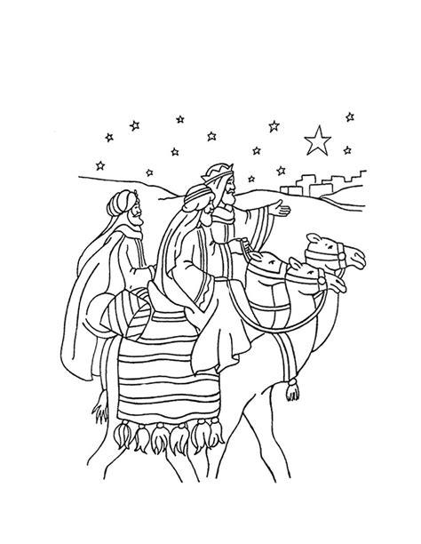 imagenes de los reyes magos para pintar 10 dibujos de reyes magos para colorear