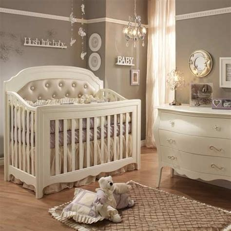 beautiful baby room love the crib for a girl pinterest