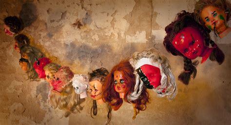 halloween dekoration psychopathen girlande aus