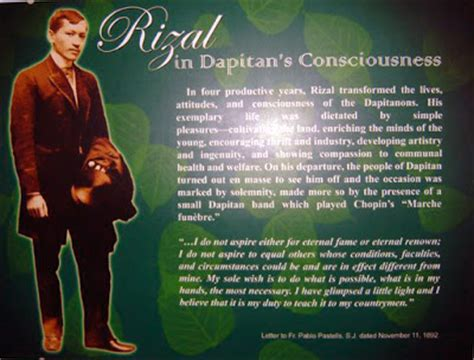 Was Rizal An American Made Article The And Works Of Rizal Rizal In Dapitan S Consciousness