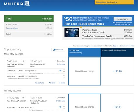 United Airlines Checked Baggage Fee by 190 218 Nyc To From New Orleans R T Fly Com