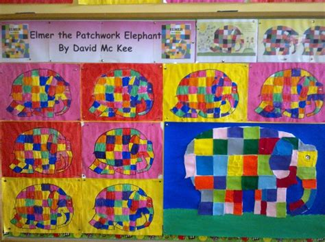 Elmer The Patchwork Elephant Activities - 88 best images about book elmer the elephant on