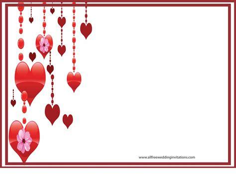 heart wedding invitations template wedding invitation ideas