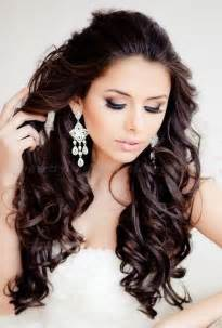 All down bridal hairstyle with forehead band pictures to pin on
