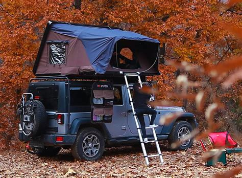 jeep pop up tent iker skyc rooftop tent inspired by jack kerouac s on