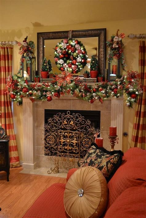 fireplace garlands garlands for stairs fireplaces and lights