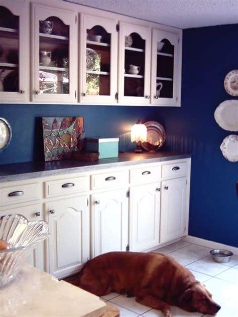White Blue Kitchen Valspar Artisan Dining Room Pinterest Cobalt Blue