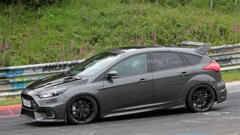 wing ford ruigere 2017 ford focus rs500 type opnieuw gespot met