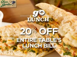 olive garden coupons red plum olive garden coupons 20 off lunch save 5 on lighter