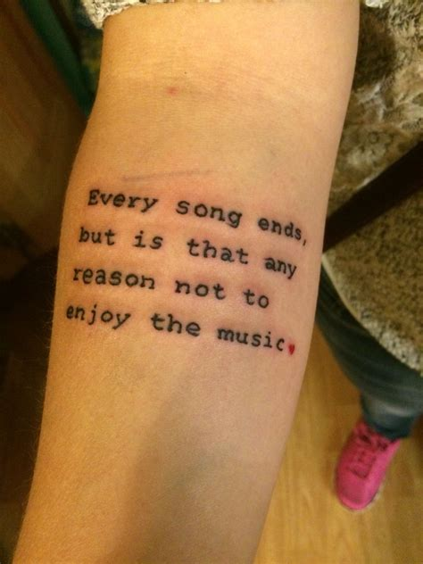 music quote tattoos one tree hill quote tattoos