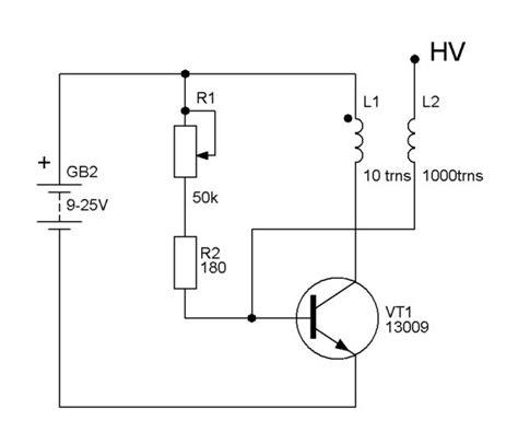 Tesla Coil Circuit Simple Tesla Coil All