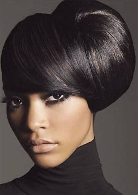 partial hair pin up styles for african americans side updo medium hairstyles for african american women