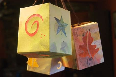 Paper Lanterns Make - how to make paper lanterns clean