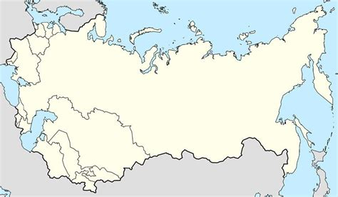 russia blank map quiz find the former ussr countries quiz by plh