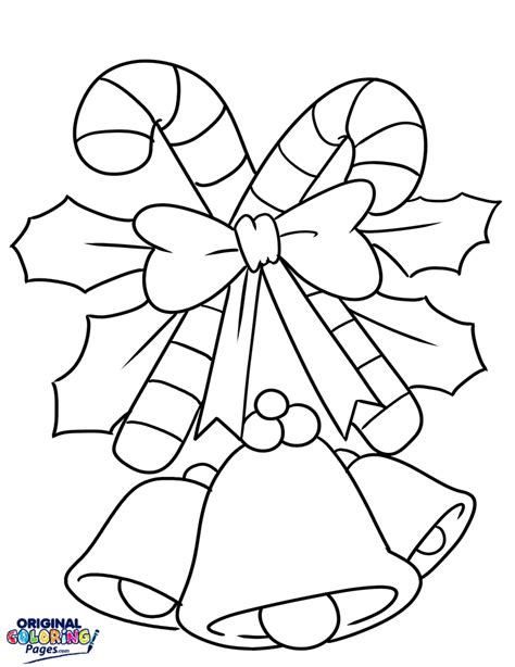 christmas decorations coloring page coloring pages