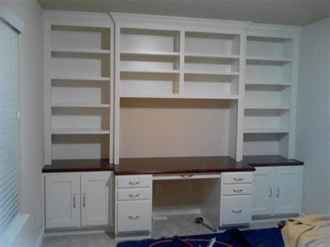 bookshelf with desk built in ikea wall units built in bookshelves and cabinets how to build