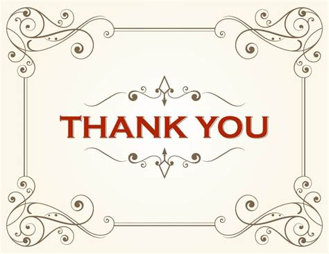 card template thank you docs thank you card template 123freevectors