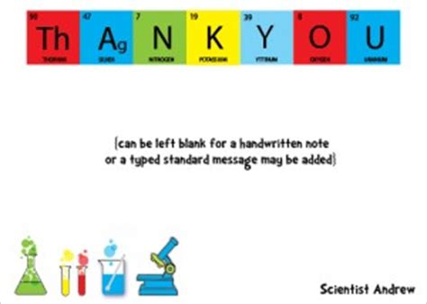 Thank You Letter To Your Science Quotes Thank You Science Quotesgram