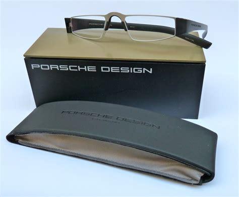 Porsche Lesebrille by Porsche Design 174 Lesebrille 8801 A Silber Schwarz Spezial