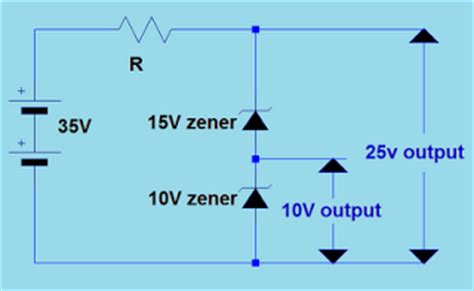 2 zener diodes in series mobile tips zener diode tutorial
