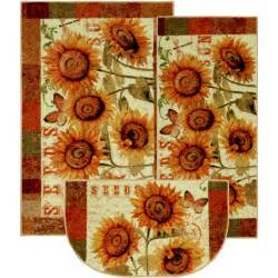 mohawk seeds 3 printed kitchen rug set walmart