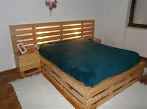 Building A Platform Bed King Size by 42 Diy Recycled Pallet Bed Frame Designs