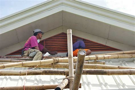 House Ceiling Design Pictures Philippines by Our Philippine House Project Roof And Roofing My
