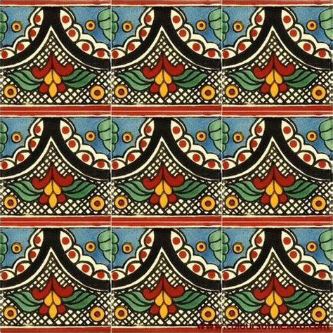 Pattern Fitting En Español | spanish tiles that fit together to create a large multi