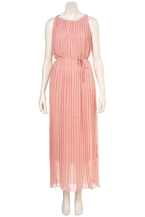 Dress Chiffon 600 By sleeveless pleated chiffon maxi dress 003573 chiffon