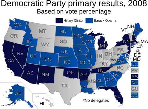 democratic color file 2008 democratic primary results alternate colors