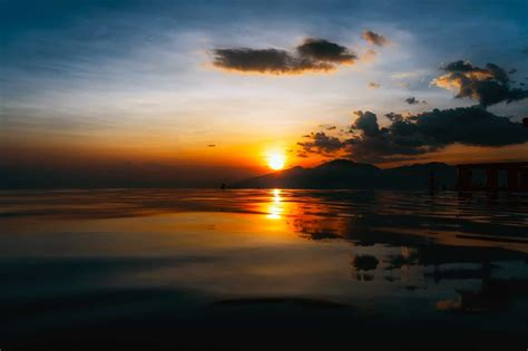 picture sunlight darkness sunrise dawn sun