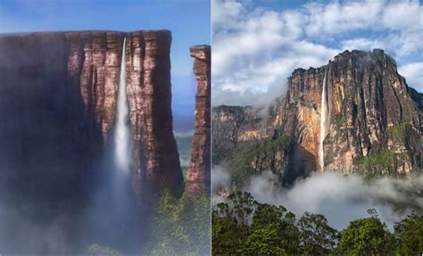 up film waterfall breathtaking real life locations that inspired disney movies